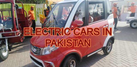 Electric Car In Pakistan