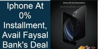 iPhone At 0% Installment