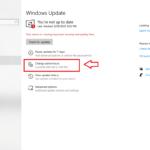 Change active hours in Windows 10