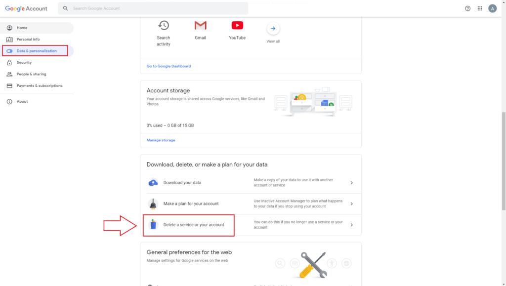 Gmail Data and Personalization