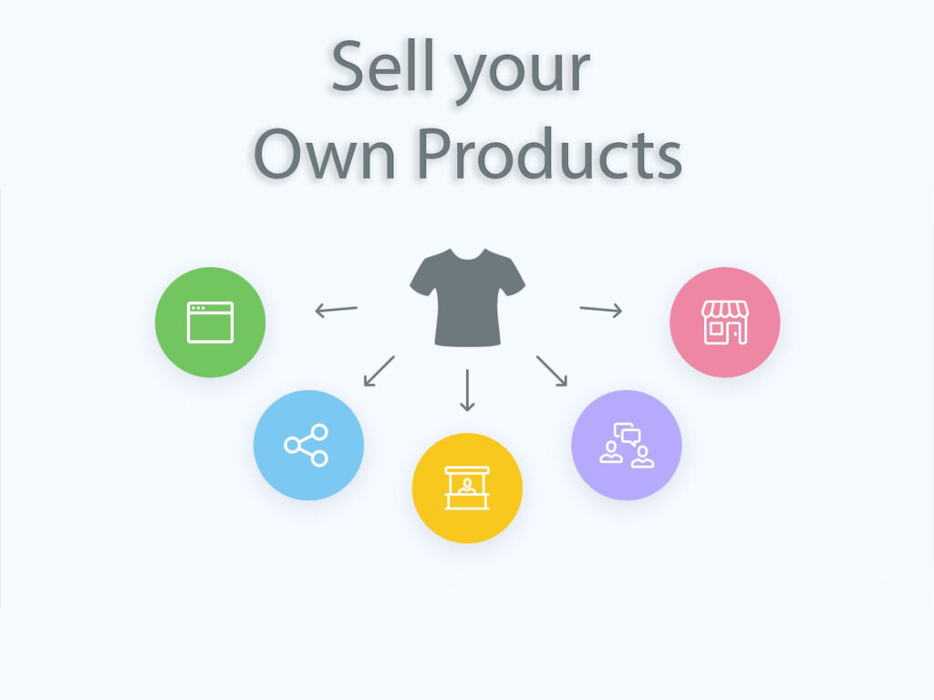 Sell your Own Prodcuts