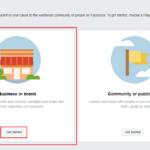 Create Facebook Page.