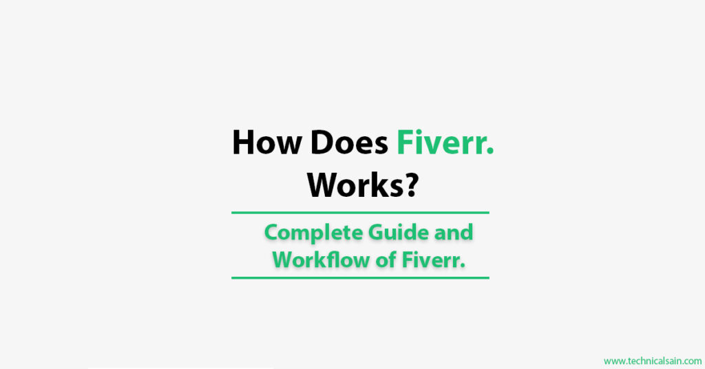 How does Fiverr works