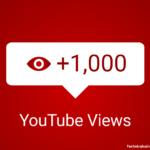 Youtube 1000 Views