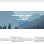 Free WordPress Blog Homepage